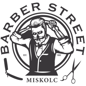Barber Street Miskolc logója
