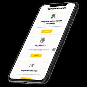 Progress Mentor weboldala